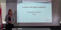 A detailed presentation on Canada's anti-spam legislation.