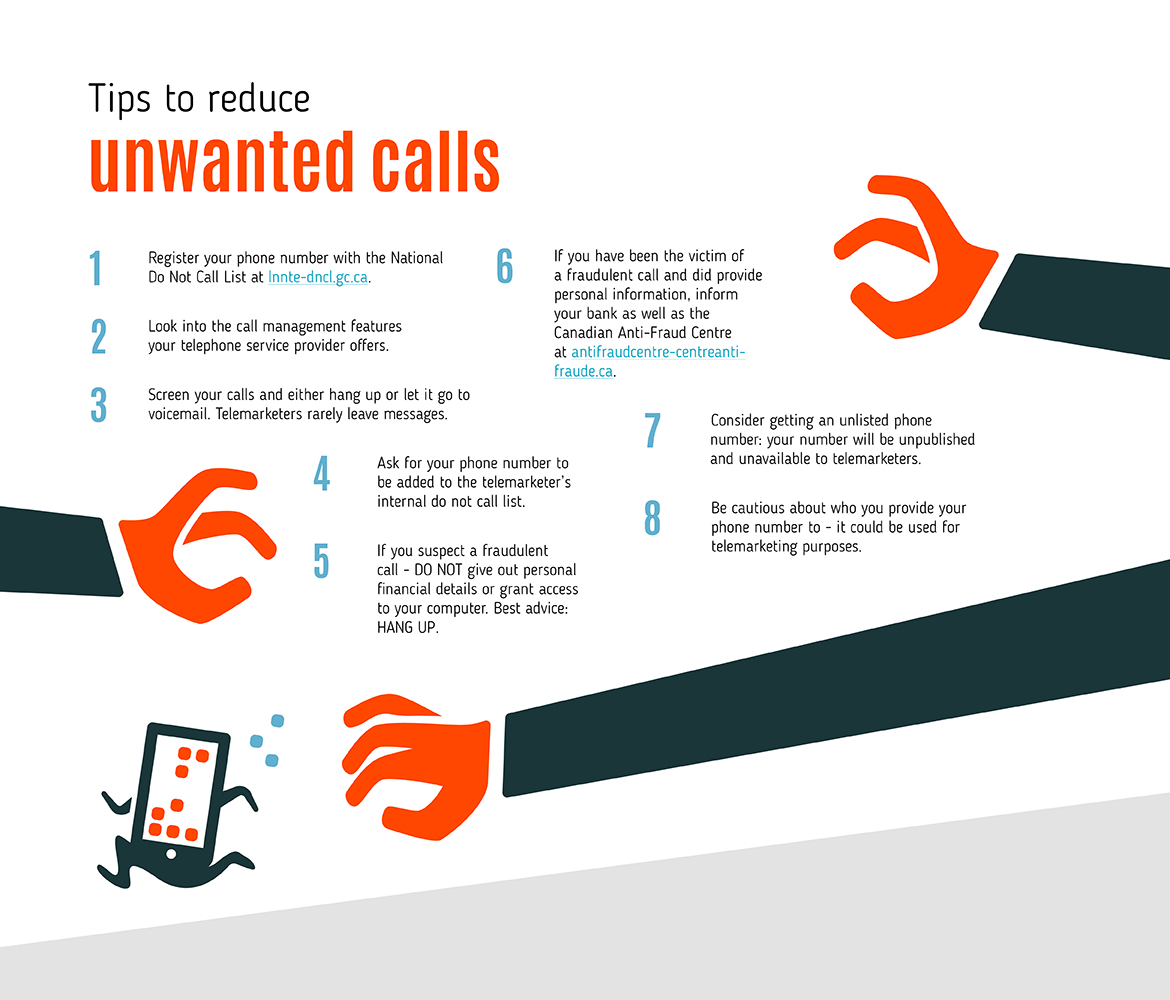 Tips to Reduce Unwanted Calls